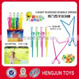 Funny Q surprise candy toys bubble Western candy scissors foam sword 46cm 16pcs