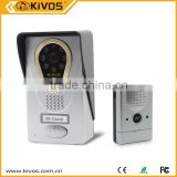 KIVOS Factory wifi door bell OEM support smart phone control viewing photo video recording remote unlock