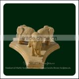 Granite Indian Elephant Decoration Marble Elephant Sculpture