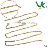 Raw Brass Chain Or Bag Chain For Jewelry And Garment Or Bag DIY Making In Hot Sell,Metal Chain