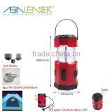 Asia Leader Products 8 LED Tube Solar Pop-up Camping Lantern