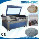 Split model machine for wood cutting machine and glass engraving machine