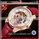 TOP quality factory price fashion mechanical watch for lady