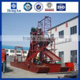 Best Ability Bucket gold dredger machine