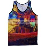 Womens Workout Tank Top,Loose Fitting Gym Tank Tops&singlets,Screen Printing Racer Back Fitness Tank Top