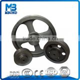 Cast Iron V Pulley Wheel V Belt Pulley/round belt pulley