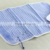 Cotton Terry Cloth Yarn Dyed Jacquard Baby Face Towel manufacturer