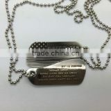 cheap price hot sale dog tags keychains