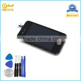 Hot selling and original repair spare parts mobile phone lcd display touch screen digitizer for iphone 4