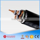 0.6|1kv low voltage 3 core 25mm2 copper conductor XLPE insulated PVC sheathed power cable electric cable