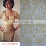 2016 Stylish African Cord Lace chemical lace fabric Swiss Guipure Lace Bridal lace fabrics