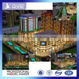 Architecture model/ new product building model maker for real estate with led advertisement board