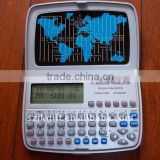 12 languages mini portable pocket electronic dictionary translator with calculator