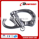 Stainless steel 316 or 304 snap shackle