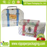 Custom Mini Paper Color Box, Suitcases Gift Box, Cardboard Suitcase Box Wholesale                                                                         Quality Choice