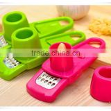 wholesale fruit& vegetable plastic garlic press and peeler set kh003