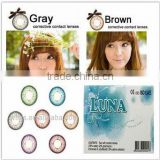 Inquiry about LUNA G-322 soft color contact lenses tri contact lens with power