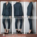 Custom new model business woman suit in China