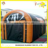 Carbon Fiber Pole Material And Canvas Fabric Inflatable Camping Tents made in China