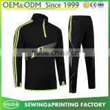 High quality comfortable breathable long sleeve football jersey quick dry trainning soccer jersey