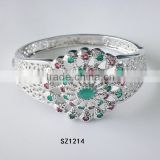 2014 Crystal Fine Jewelry Bracelets Bangles expandable bangle made in Yiwu market