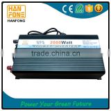 dc12v to ac 110v/220v 2000W intelligent charging power inverter with UPS function