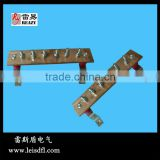 Copper busbar for grounding