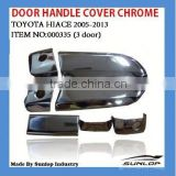 car hiace body parts #000335 hiace door handle cover chrome for hiace 2005 up,hiace van,commuter,KDH200