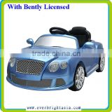 New Licensed Car,Bently Licensed Car,Ride On Licensed Car,With 2.4G R/C,With Painting Color