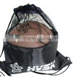 Basketball Football Drum Gym Bags Mesh Drawstring Beach Backpack