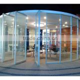 Aluminum Frame Glass Office Partition Wall,Transparent Glass Divider For Office,Hotel,Restuaran