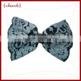 New Style Hot sale girls satin butterfly hair clip