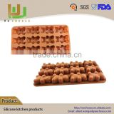 Quality First Durable Service silicone taj mahal chocolate mould animal shape heart shape DIY chocolate biscuit