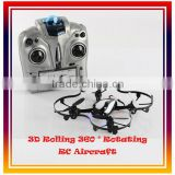 2014 Newest Mini RC Quadcopter Toys 2.4G R/C Quadcopter Helicopter Toy With Night Light Drone Aircraft