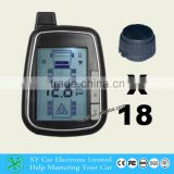 Accurate water resistant digital truck tire wireless monitoring system tire pressure XY-TPMS618E