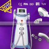 FDA certificate I two handles IPL skin rejuvenation /hair removal/acne removal/ and body shaping beauty machine MED-230