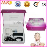 Au-015 Handheld anti wrinkle Hot and Cold skin tightening facial Hammer with shrink pore