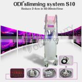 Most Powerful 4-IN-1 Diode Laser+Cavitation+Vacuum+Rf Fast Fit Weight Loss Machine(CE certificate)