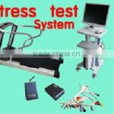 Professional PC based Wireless ECG Stress Test System for Cardiac Stress Exercise testing treadmill optional