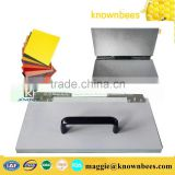 laptop type beeswax foundation press machine easily making