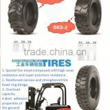 Forklift tires high quality solid tire 10-16.5 forklift on sale with with unique compound materials