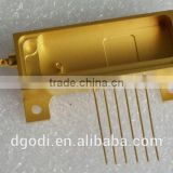 cnc milling brass spare parts for optical transceiver