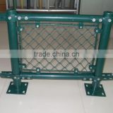 China Hot Sale High Quality Perimeter fence/Chain Link Fence top barbed wire/cyclone fence