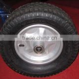 rubber wheel for hand truck and trolley