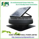 15 watt Inbuilt Solar Panel Powered solar roof exhaust fan strong wind power ventilation fan