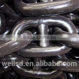 Steel stud link used anchor chain