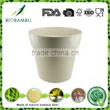 High standard practical best design Outdoor&Indoor Bamboo Fiber pots