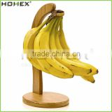 Bamboo Fruit and Banana Stand with Hanger/Homex_FSC/BSCI Factory