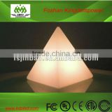glowing color changing bedside beautiful pyramid