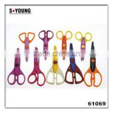 61069 Popular Novelty Children/Kids School Craft Scissors Paper Shape Cutting Scissors